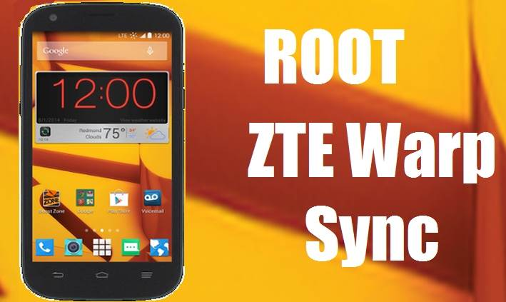 Easy Root ZTE Warp Sync Without Computer