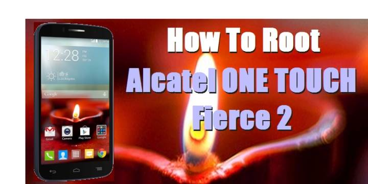 How To Root Alcatel ONE TOUCH Fierce 2 Without Computer - DroidBeep