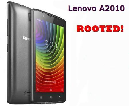 Lenovo A2010 Rooted
