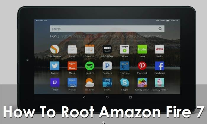 How To Root Amazon Fire 7