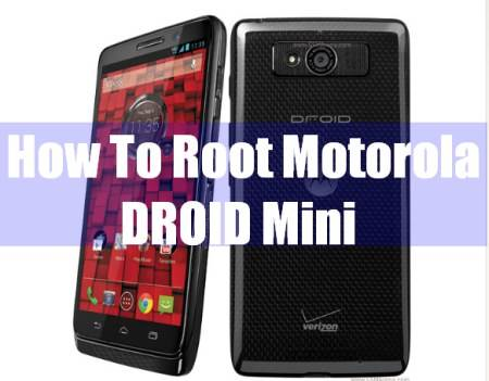 root motorola droid mini