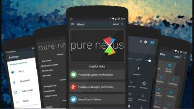 Custom ROM Pure Nexus Nougat For Moto G 2015