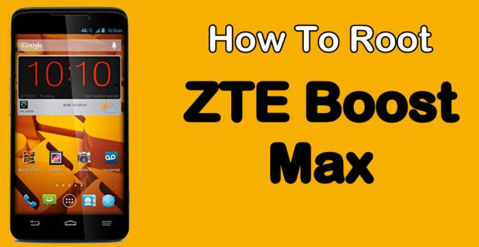 Root ZTE Boost Max Without PC