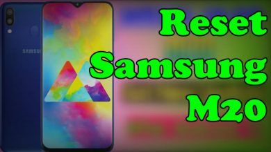 How To Reset Samsung M20