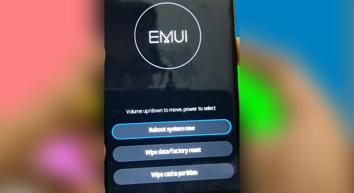 Hard reset Huawei Y6 2019 from Recovery