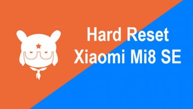 Hard and Factory Reset Xiaomi Mi8 SE