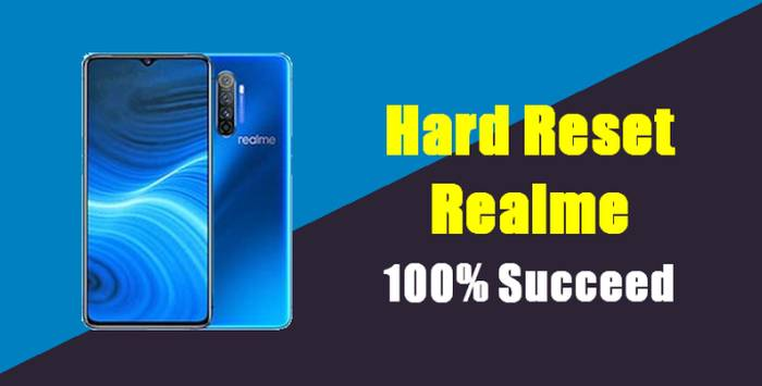 How To Reset Realme X2 Pro