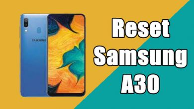 How To Reset Samsung A30