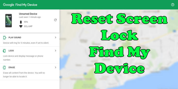 Reset Screen Lock via Find My Device
