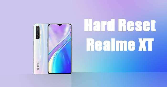 How To Reset Realme XT
