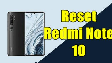 How To Reset Redmi Note 10
