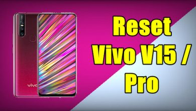 How To Reset Vivo V15