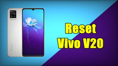 How To Reset Vivo V20